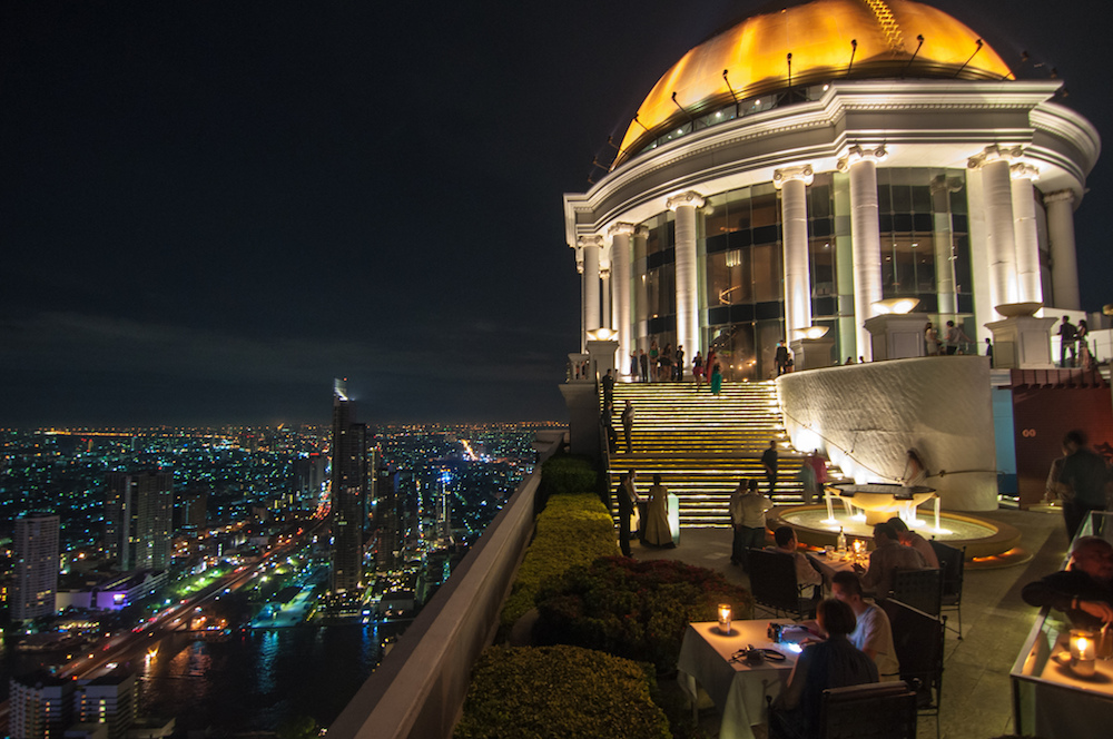 Sky Bar at Sirocco in Bangkok, Thailand