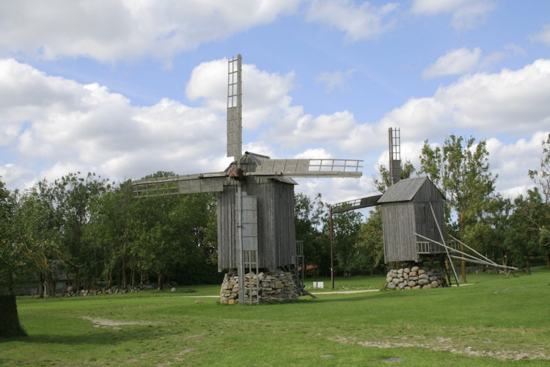 Windmills on Saremaa Island