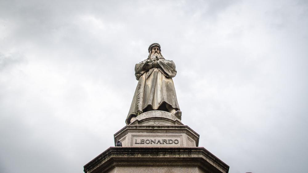 Orbitz-Italy-3 perfect days in Milan-Leonardo da Vinci-1-Getting Stamped