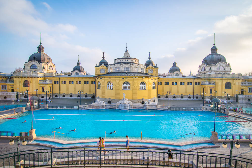 Orbitz-3 Perfect Days in Budapest-Széchenyi Thermal Baths-GettingStamped