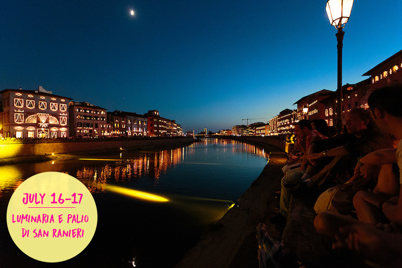 Luminaria e Palio di San Ranieri | Flickr CC: Mr. Seb