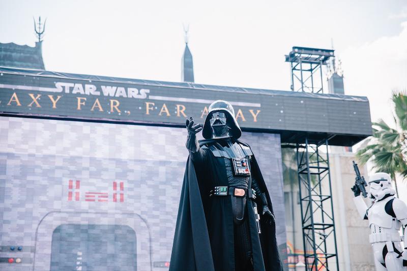 Star Wars Daytime Stage Show