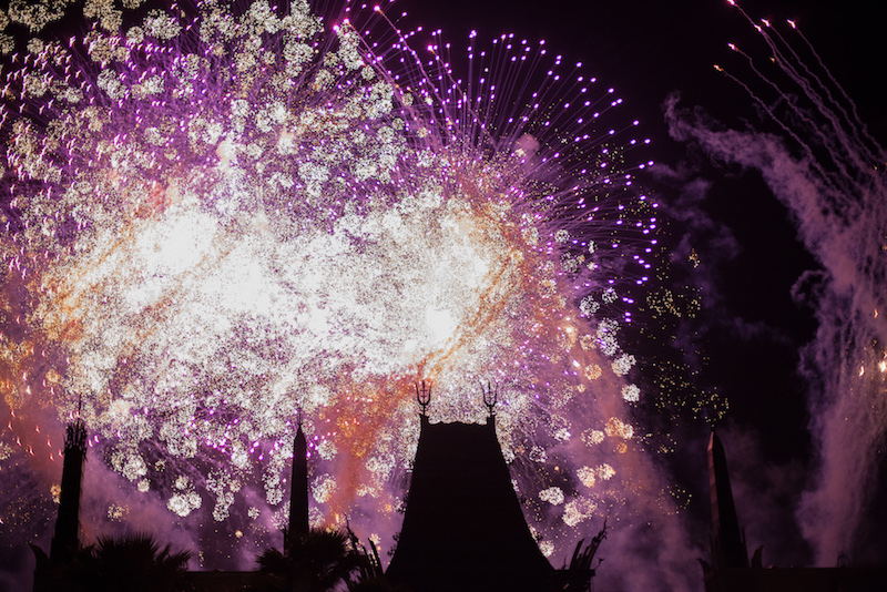 Symphony in the Stars: Star Wars Fireworks show