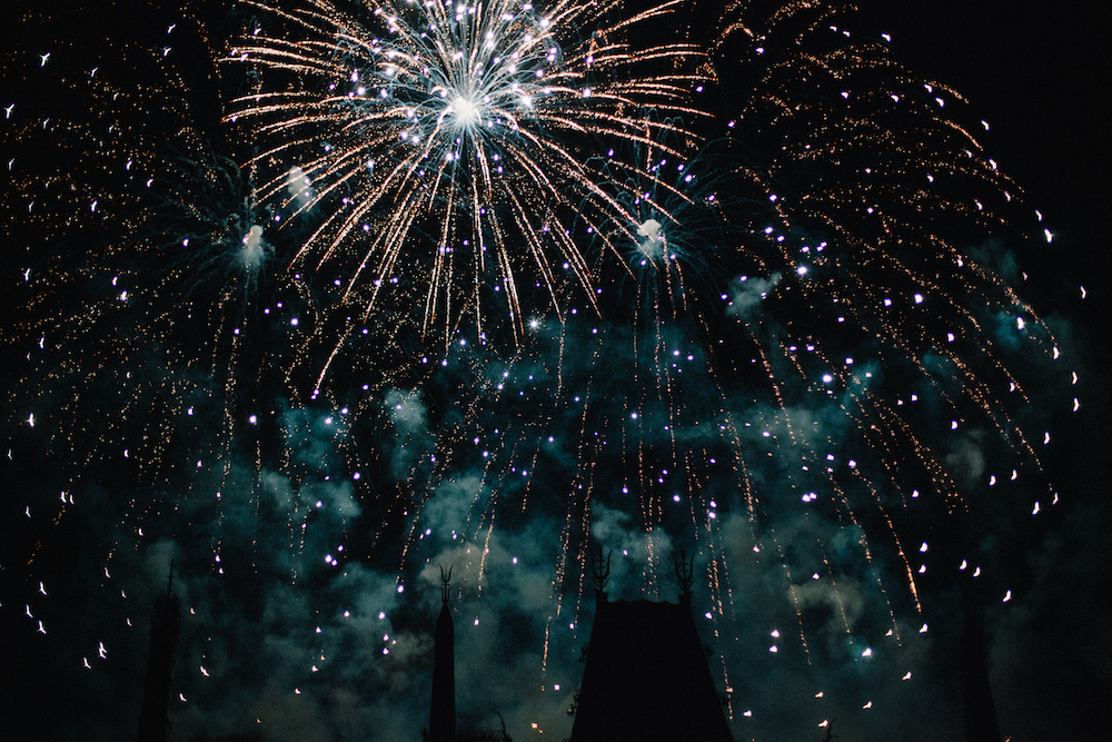 """End your night watching the beautiful """"Symphony in the Stars: A Galactic Spectacular."""" A fireworks show synced to the famous themes by John Williams. See a sneak peek below!"""