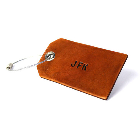 Owen & Fred monogram luggage tags