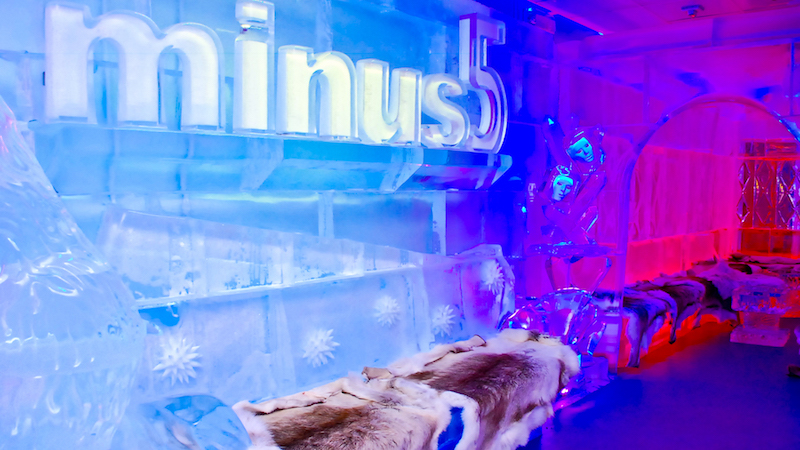 Minus 5 at the Monte Carlo