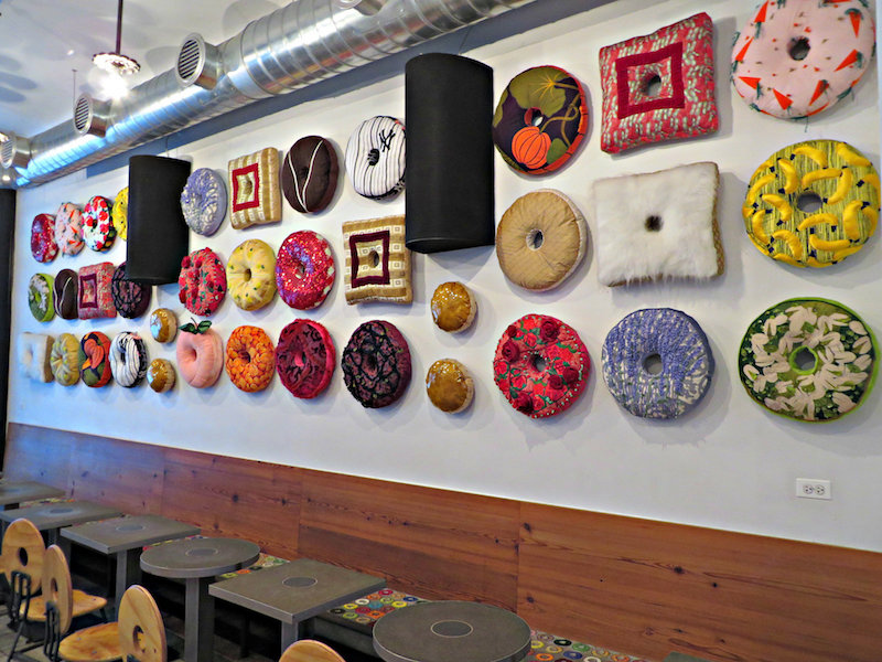 Doughnuts are always on the mind in Doughnut Plant