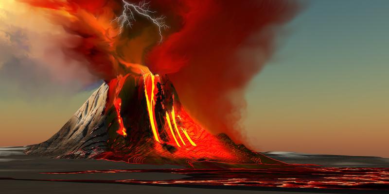 Volcano Big Island Hawaii