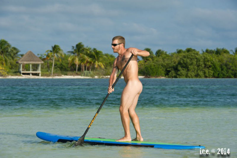 Standup paddle boarding in Key West
