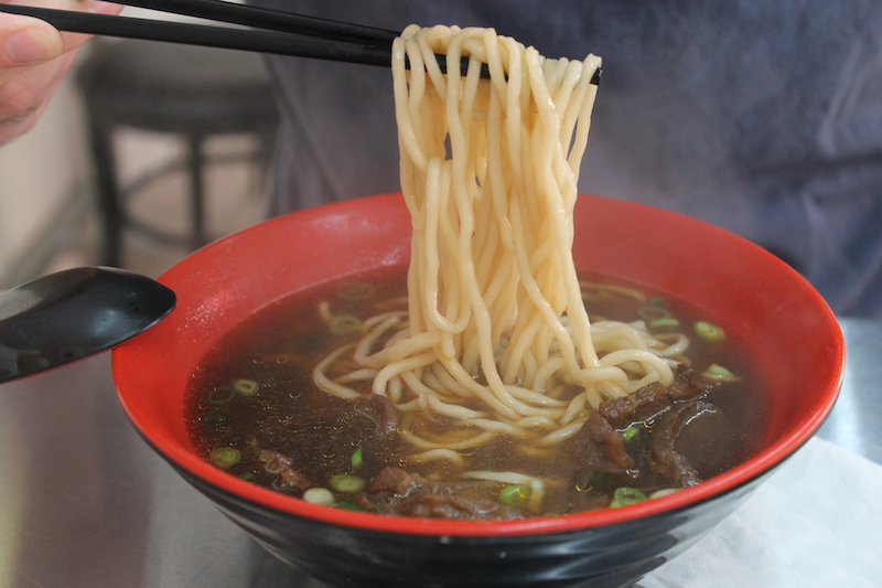Noodles in Taiwan