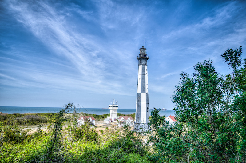 Cape Henry Lighthouse at Virginia Beach