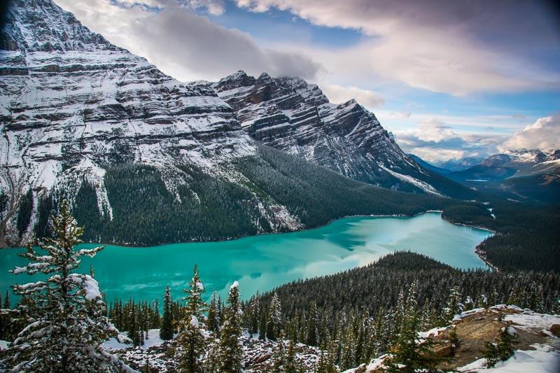 Orbitz - 3 perfect Days in Banff - Peyto Lake - Getting Stamped -1