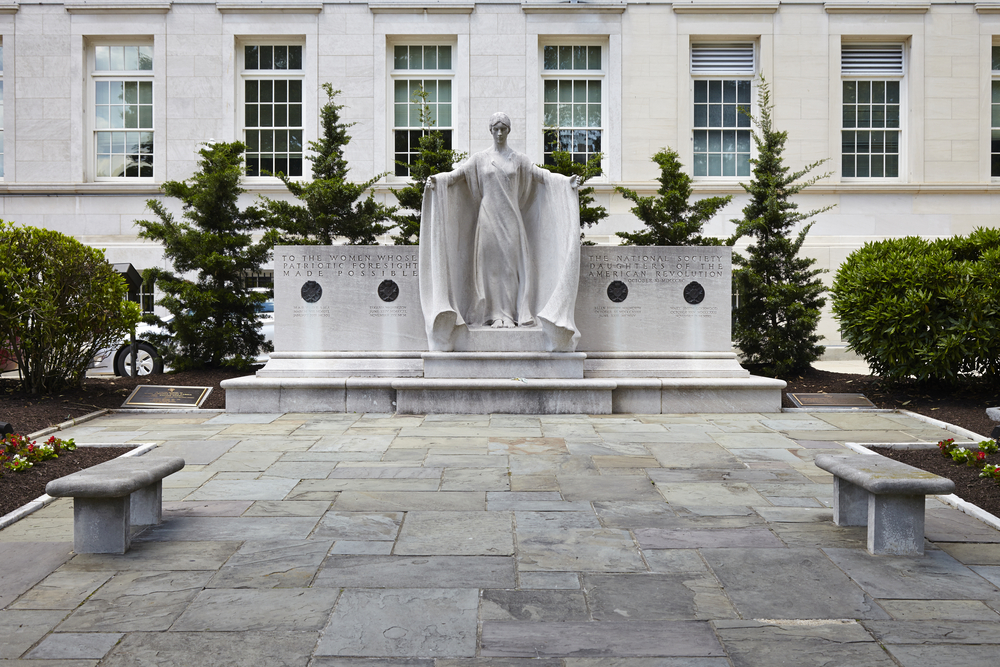 washington dc monuments for women