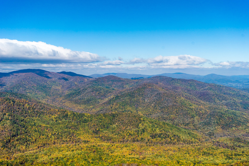 View from Old Rag Mountain