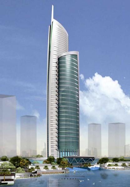 Almas Towers, courtesy of Dubai Tourism