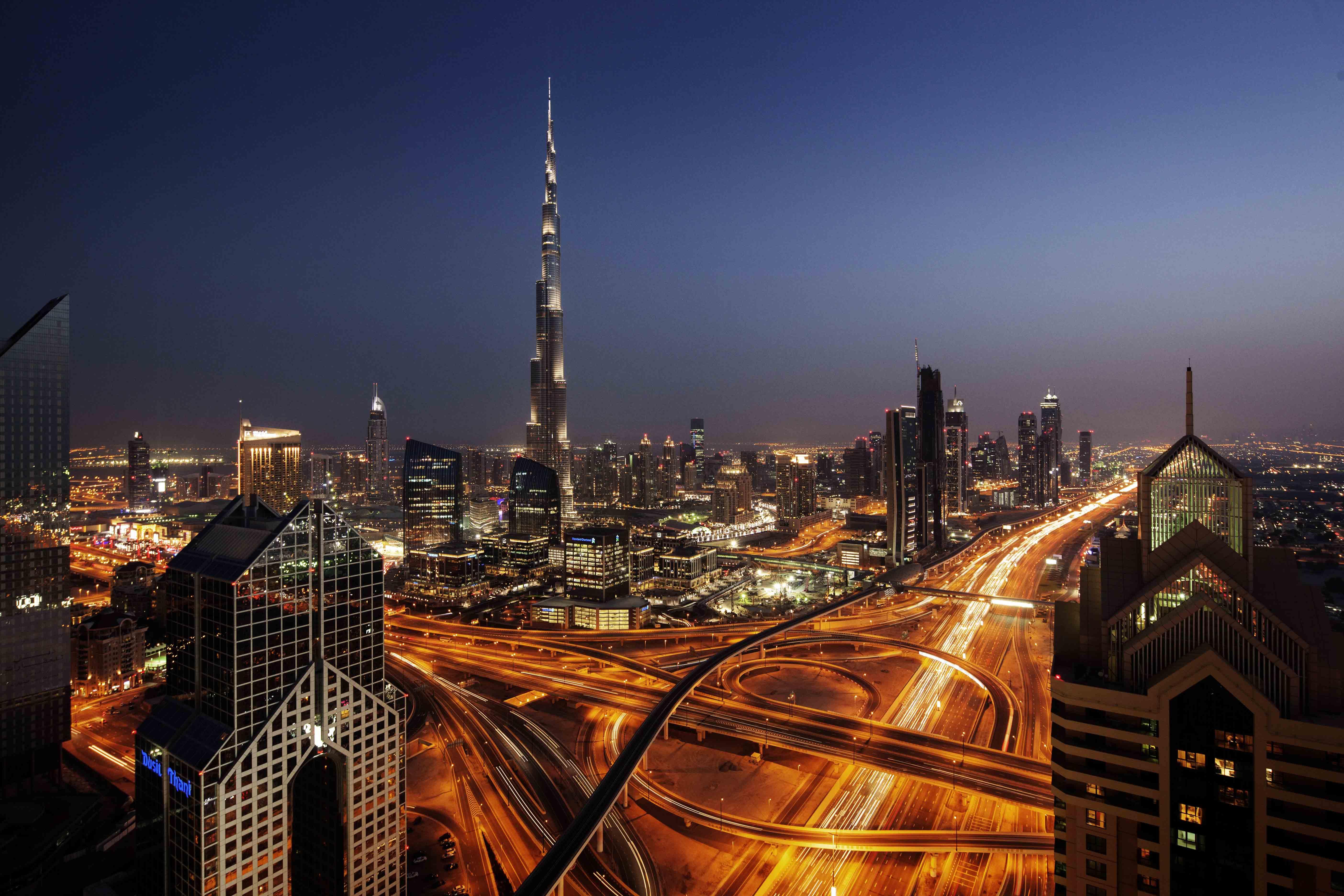 Downtown Dubai, courtesy of Dubai Tourism