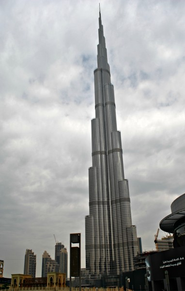 The Burj Khalifah, courtesy of Rosalind Cummings-Yeates