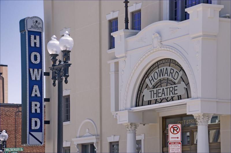 Howard Theatre in the Shaw neighborhood