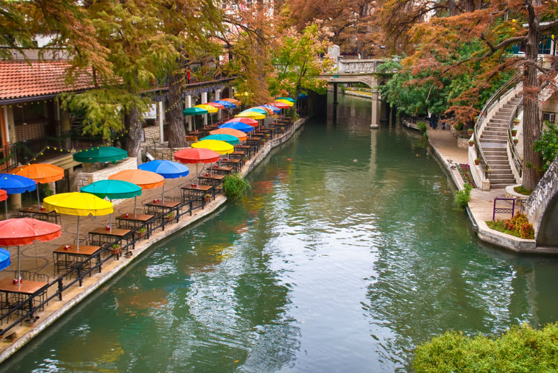 San Antonio, Riverwalk, Texas