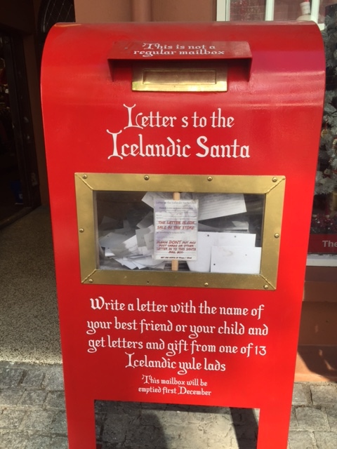 Icelandic Santa Mailbox