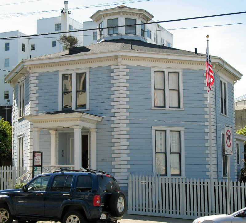 octagon house, san francisco
