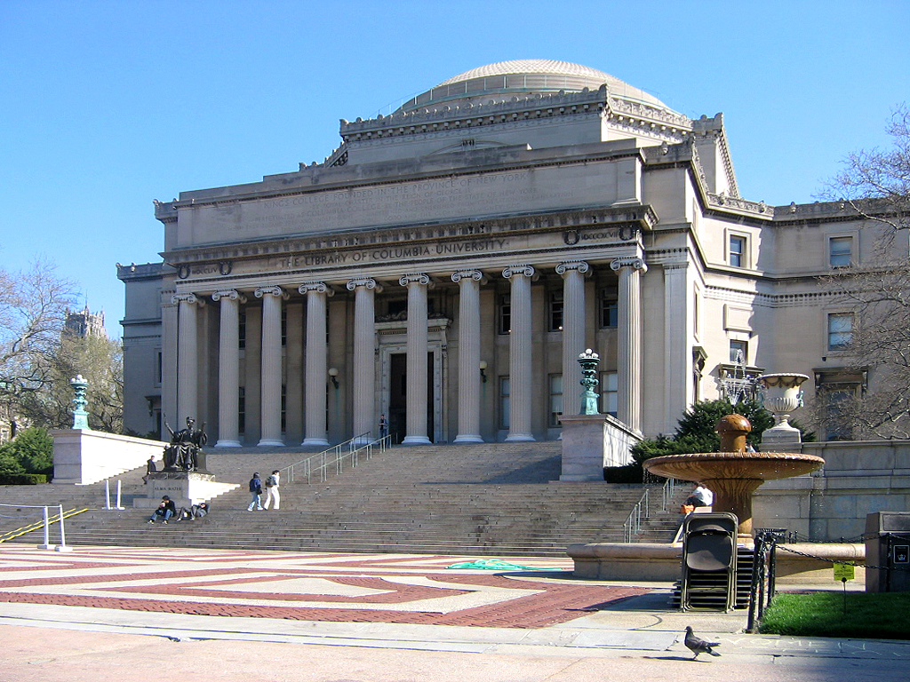 Columbia University, courtesy of Columbia University.