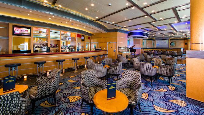 Disney Cruise Promenade Lounge