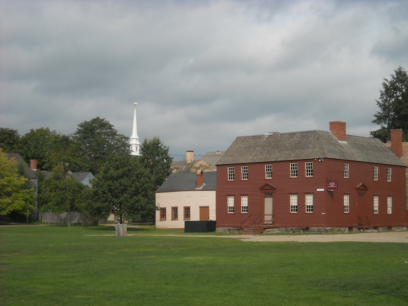 Strawberry Banke Grounds | Photo courtesy of Strawberry Banke Museum