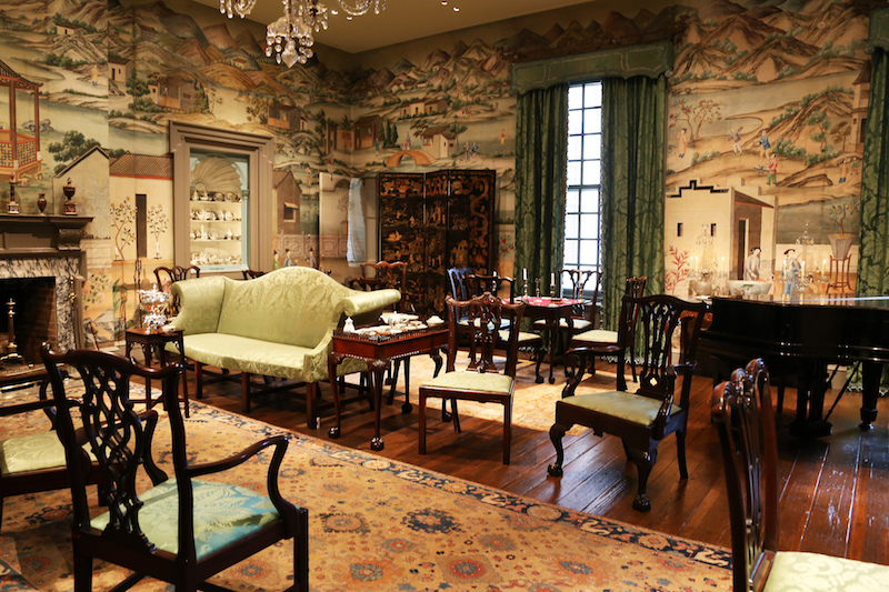 Chinese Parlor in Winterthur Museum, Garden & Library