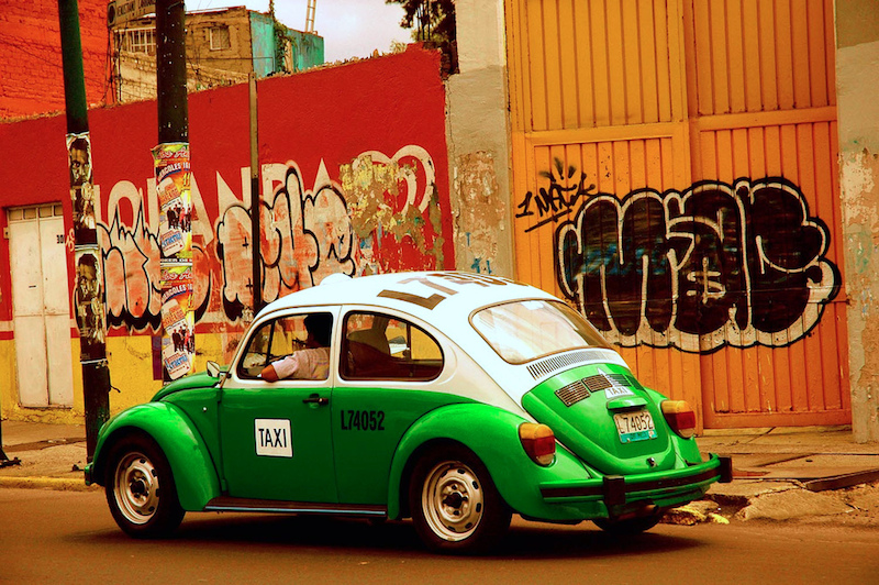 Mexico City Volkswagen beetle