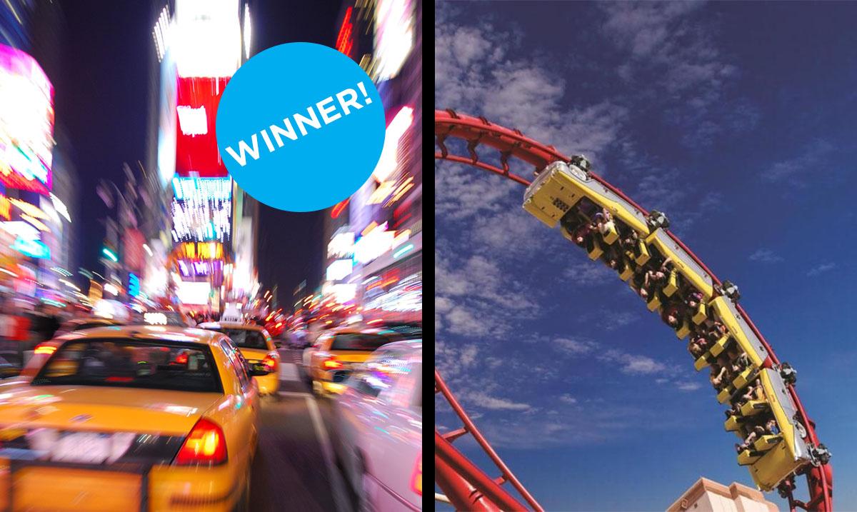 Left: Shutterstock | Right: NY NY Vegas