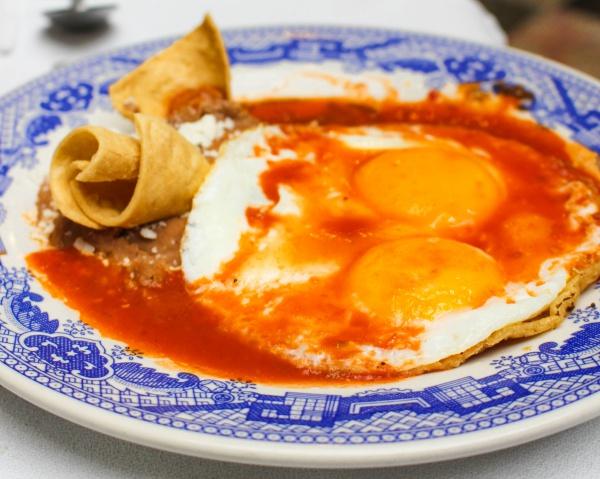Huevos Rancheros at Sanborns