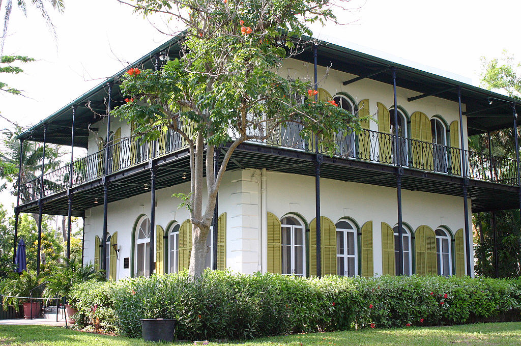 Ernest Hemingway home, Key West Florida | Photo: WikiMedia/Andreas Lamecker