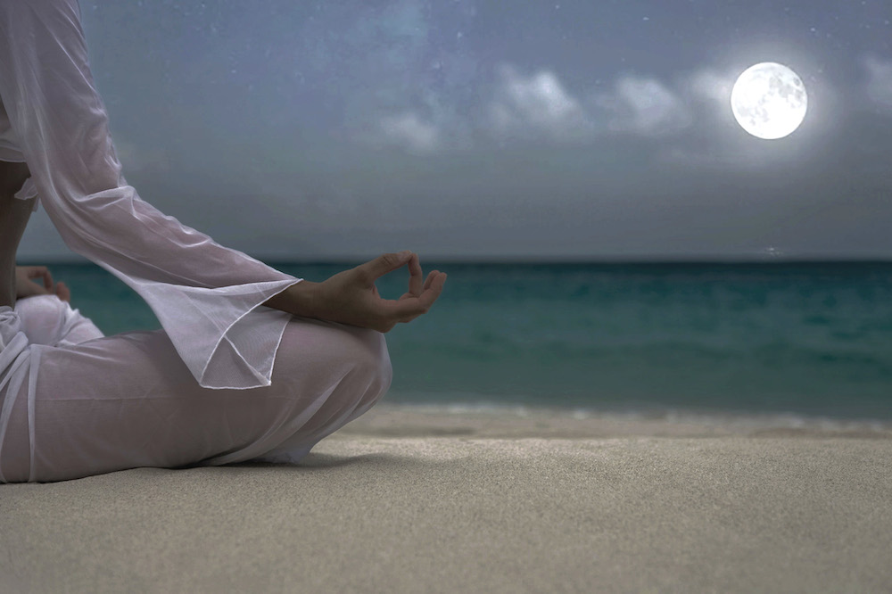 Namastay all night for moonlit meditation at The Resort at Longboat Key Club. Photo courtesy of Diamond Public Relations.