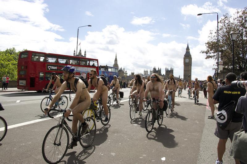 World Naked Bike Ride | Flickr CC: bjpcorp