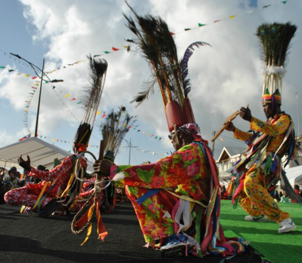 Traditional dancers at Culturama, courtesy of Rosalind Cummings-Yeates