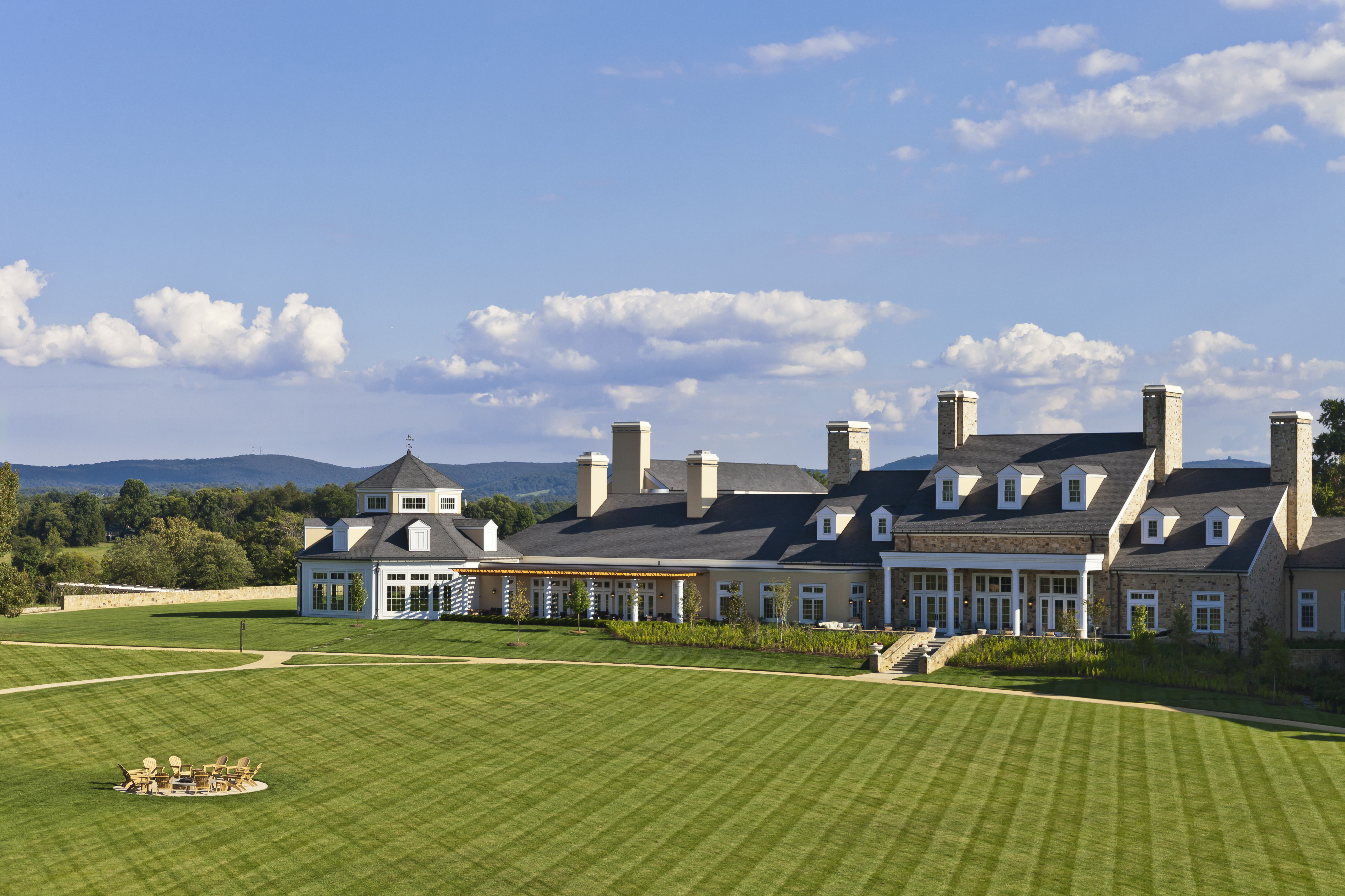 The Grand Lawn | Photo courtesy of Salamander's Resort and Spa