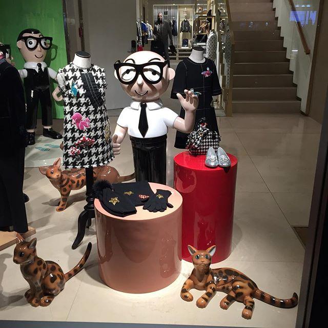 Window shopping on Madison Avenue | Photo courtesy of @lynnshawprod
