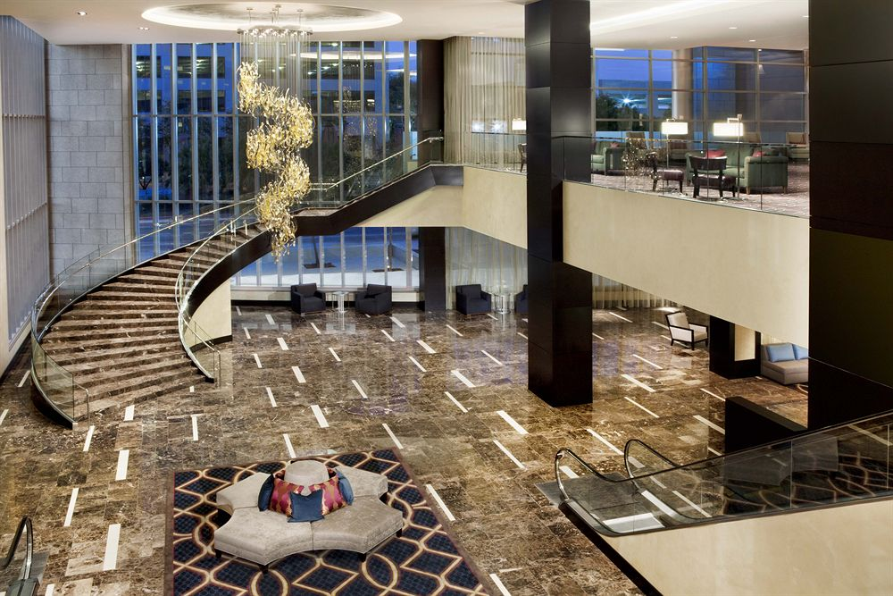 And after the party it's the hotel lobby | Photo courtesy of the Hyatt Regency