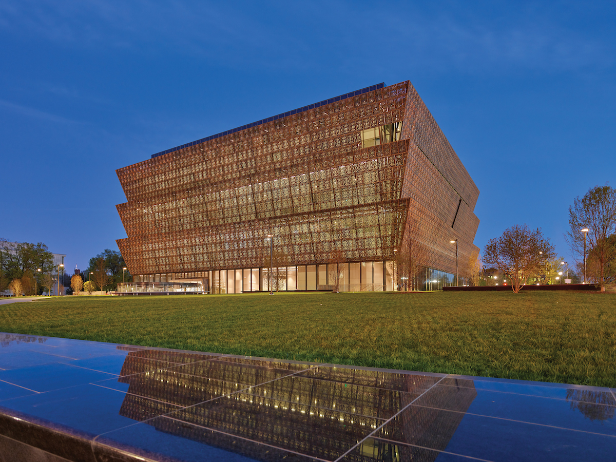 Photo courtesy of Smithsonian Institution, National Museum of African American History and Culture Architectural Photrography