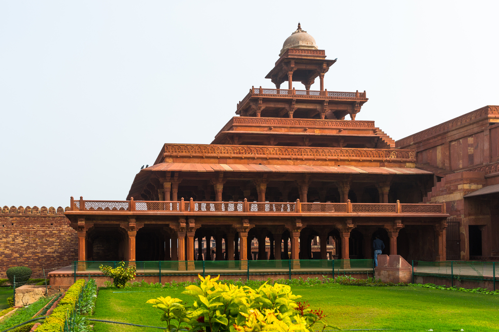 Fatehpur Sikri a city in the Agra district of Uttar Pradesh