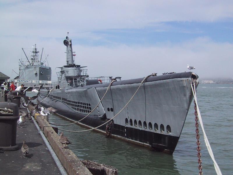 USS Pampanito | Flickr CC: Johan Wieland</a