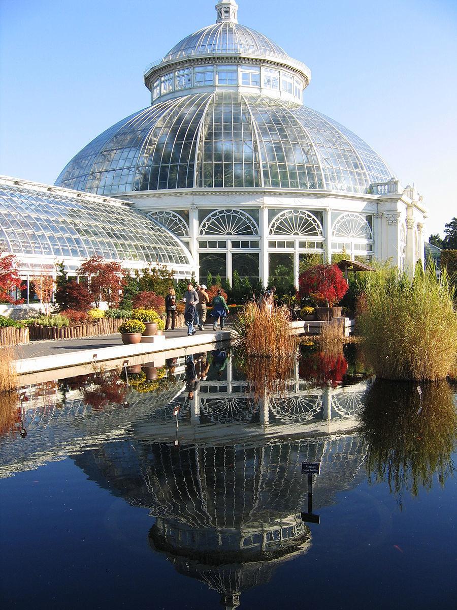 New York Botanical Garden. Credit Wiki Commons.