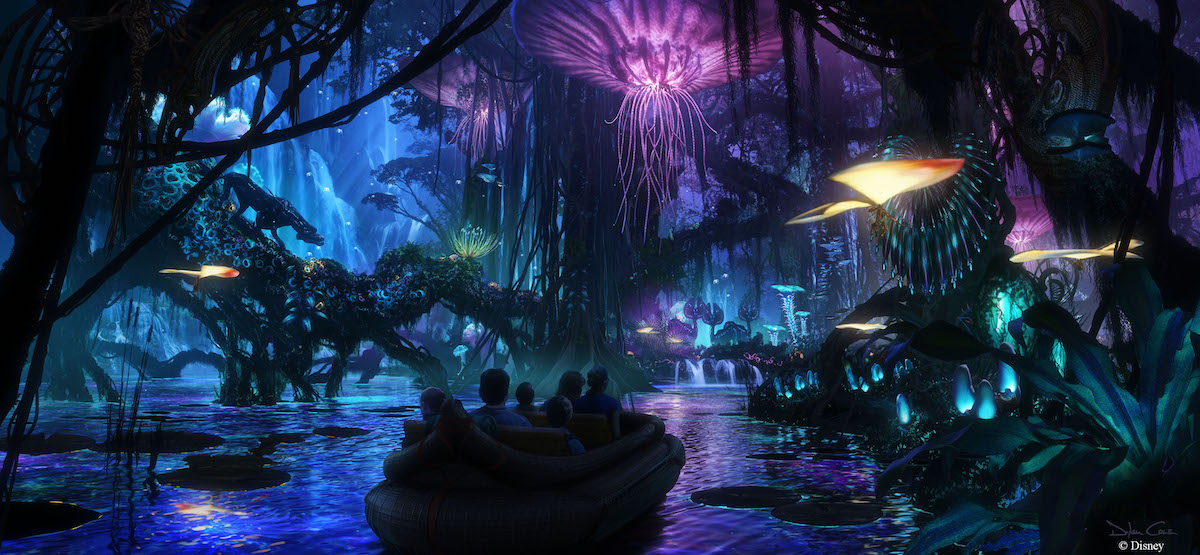 Avatar inspired Navi River Journey | Concept art, Walt Disney Imagineering
