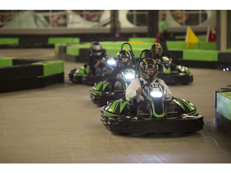 Photo courtesy of Andretti Indoor Carting