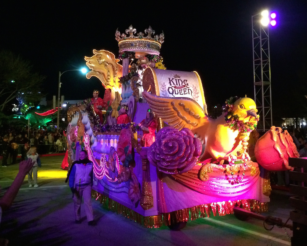 Universal Orlando Resort puts on a nightly, kid-friendly celebration. Credit Jared/Flickr.