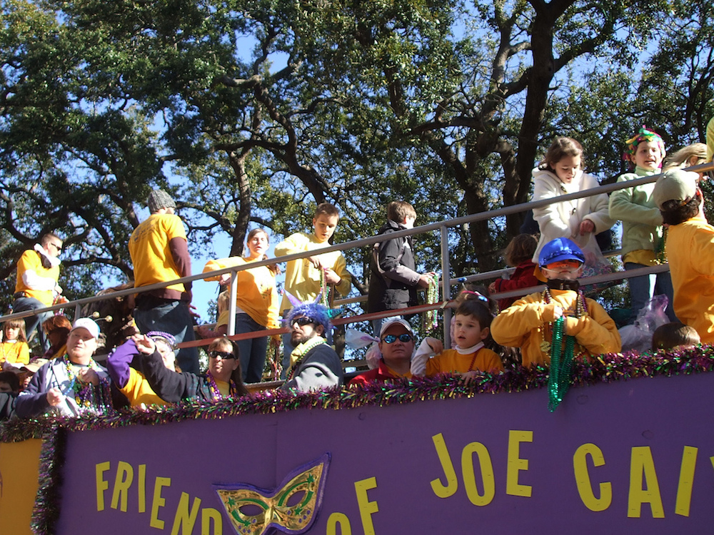 Why wait until Tuesday when you can start pregaming on Joe Cain Day? Photo by Andrea Wright/Flickr.