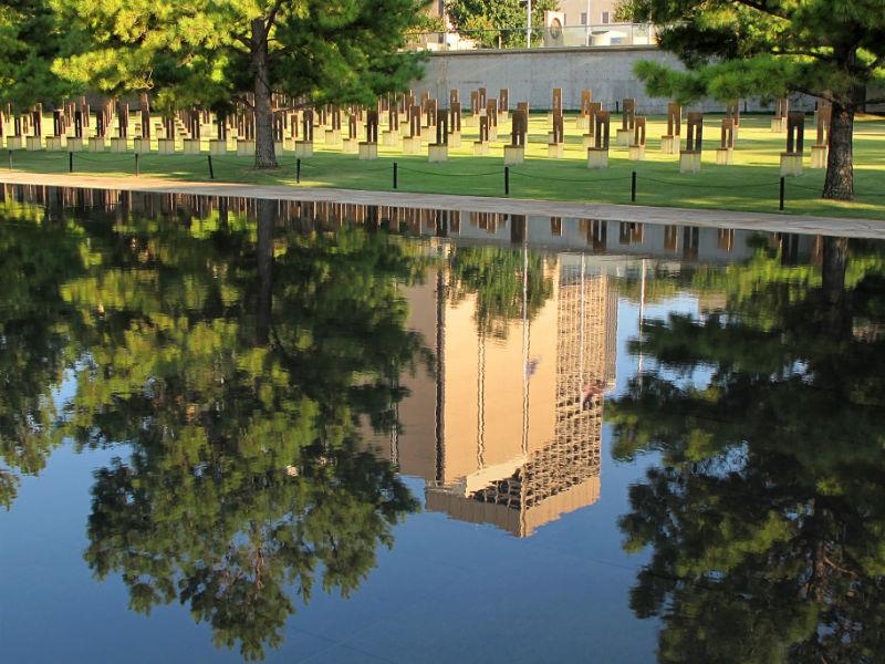 Oklahoma City National Memorial, monument, Oklahoma City