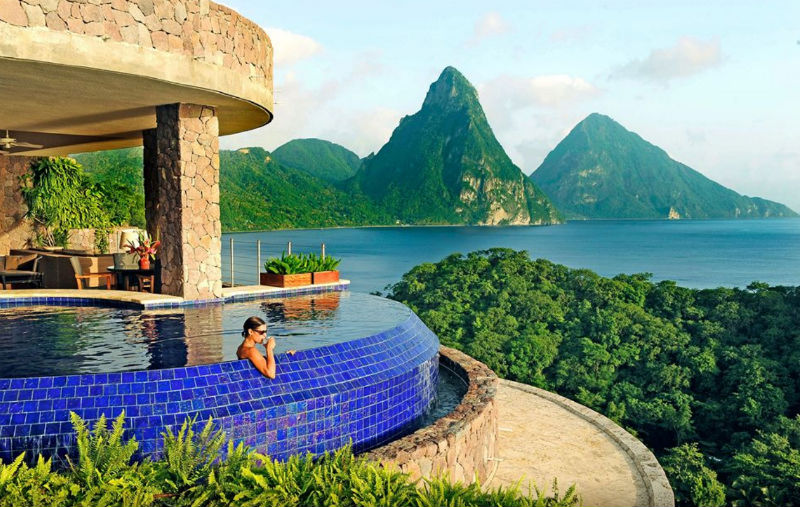 Jade Mountain, St. Lucia, Caribbean