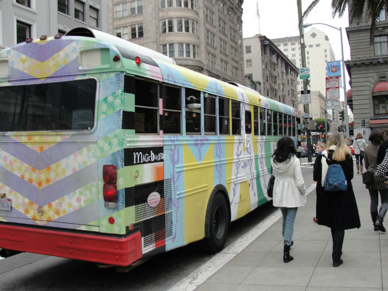 Magic Bus, Summer of Love, San Francisco